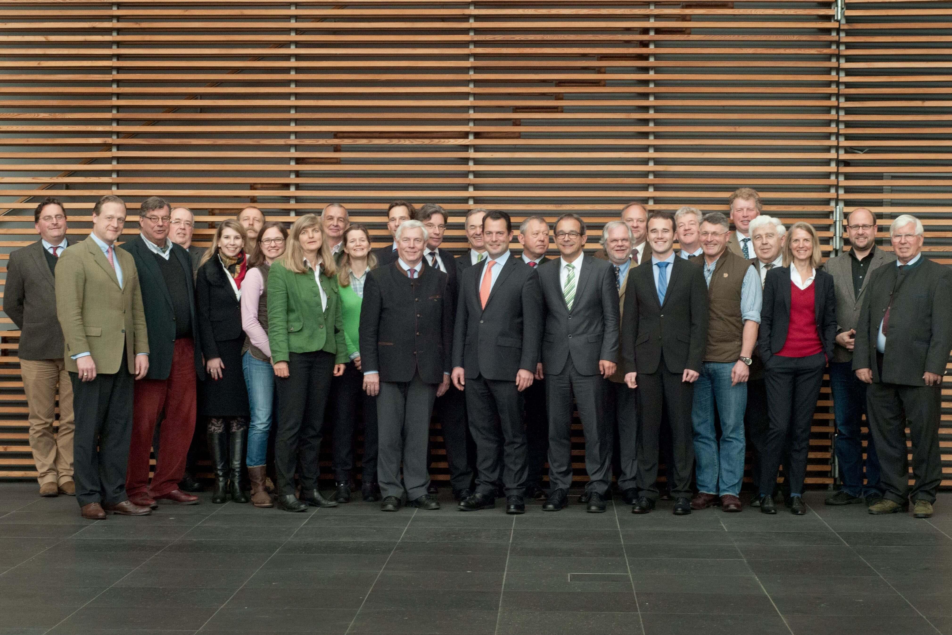Gruppenfoto Hauptausschuss 2015