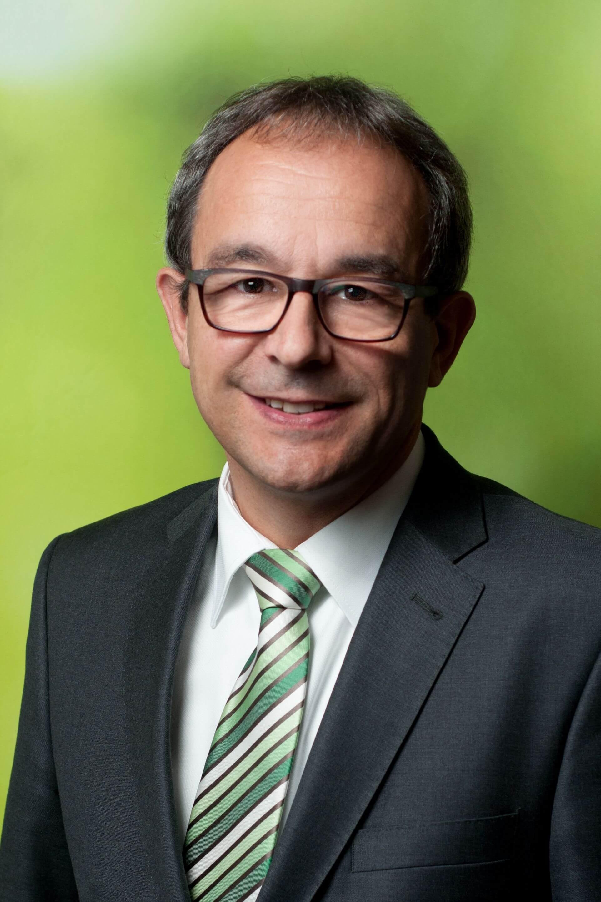 Roland Burger ist Vizepräsident und Präsident der Forstkammer in Baden-Württemberg