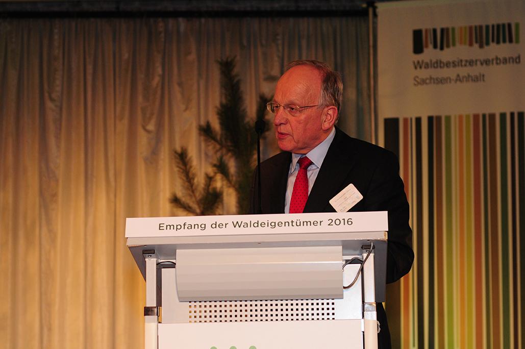 Motto Vielfalt Wald: Rede von Landesminister Dr. Hermann Onko Aeikens