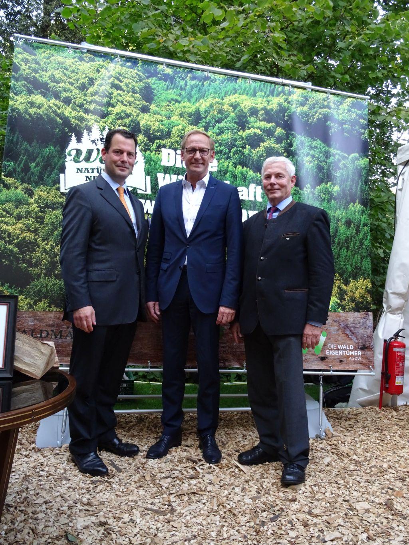 Bürgerfest 2016 in Niedersachsen: Freiherr zu Guttenberg, M. d. B. Holzenkamp, N. Leben