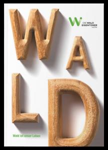 Cover der Broschüre Wald ist unser Leben
