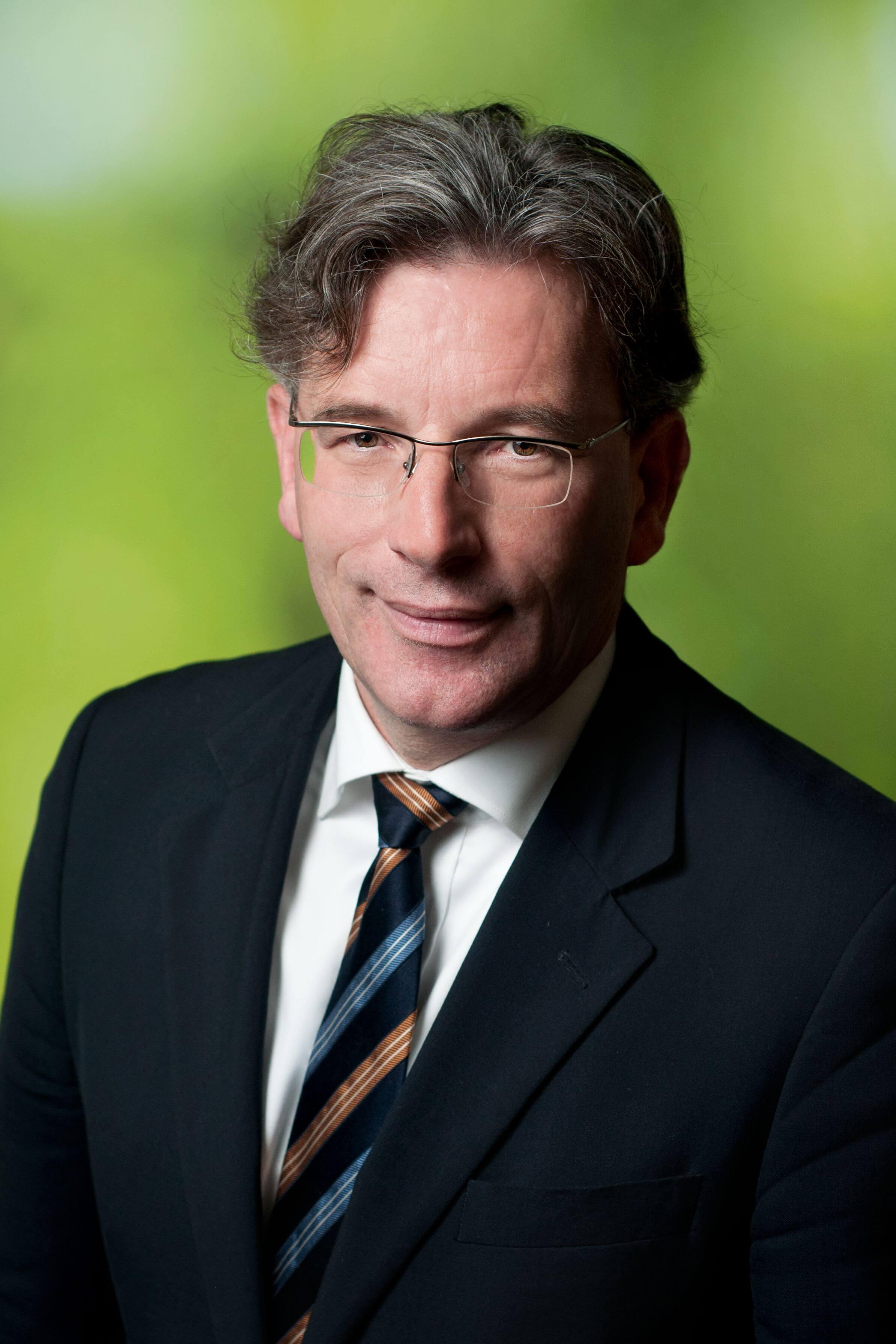 Prof. Dr. Andreas W. Bitter, Vorsitzender des Waldbesitzerverbandes Sachsen
