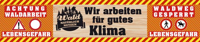 Absperrbanner_gutes Klima