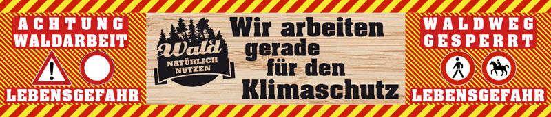 Absperrrbanner_Klimaschutz