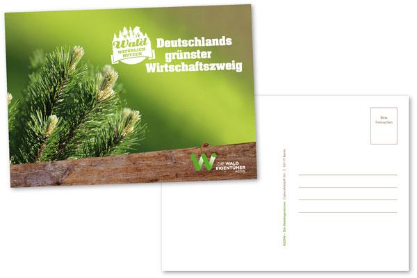 Postkarte_Deutschlands grünster Wirtschaftszweig