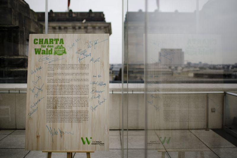 Unterzeichner der Charta für den Wald