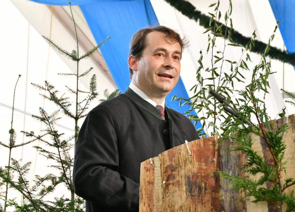 Rede zum Waldpakt von Josef Ziegler, Präsident des Bayerischen Waldbesitzerverbandes