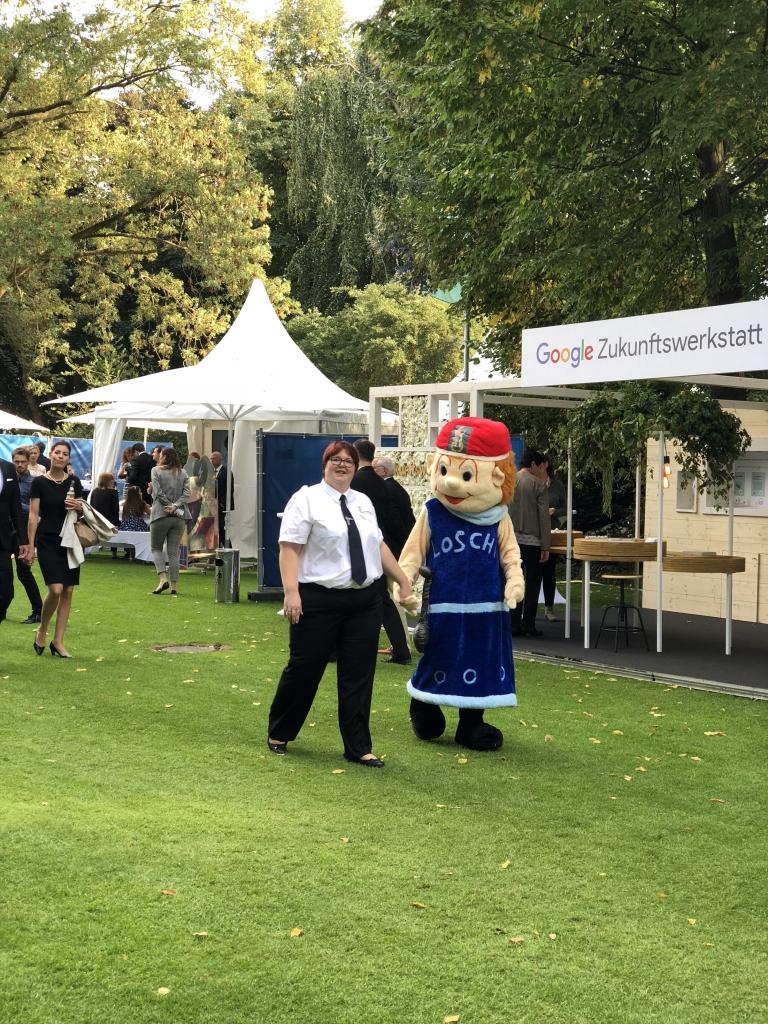 Bürgerfest_Feuerwehrmaskottchen