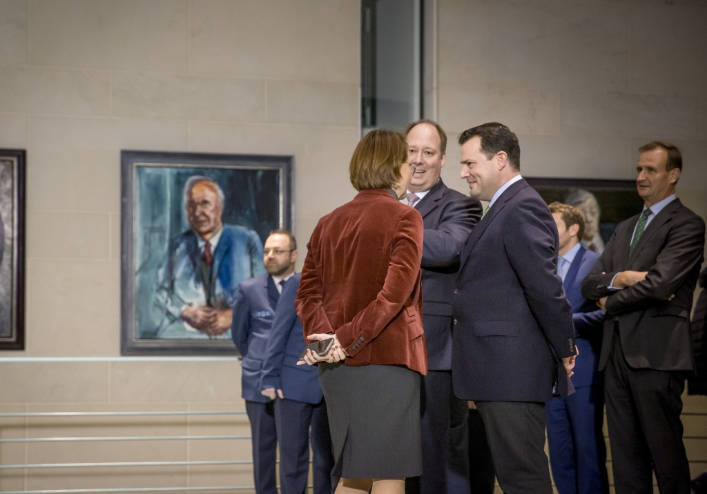 Zu Guttenberg mit Braun und Widmann-Mauz