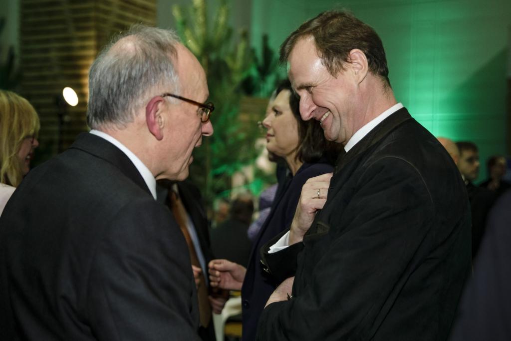 AGDW-Präsident mit Staatssekretär HermannOnko Aeikens